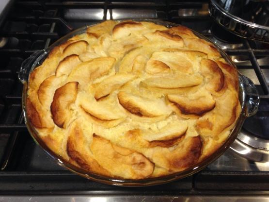 Egg Apple Cake Recipe