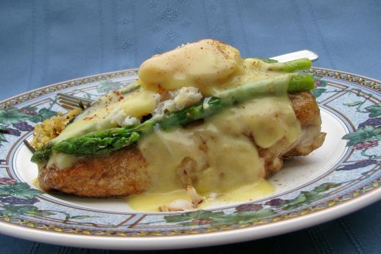 Chicken Supreme Oscar Recipe Genius Kitchen