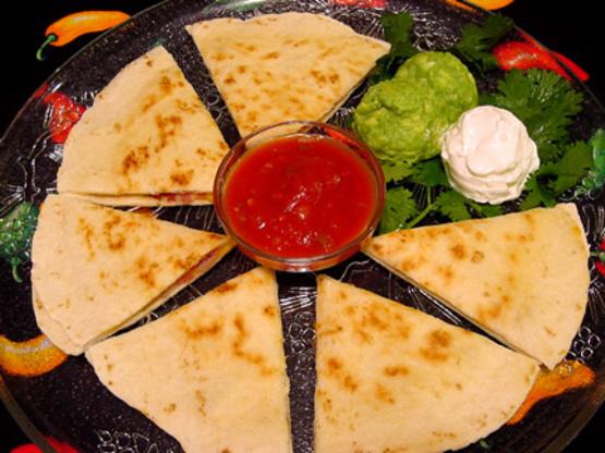 Chicken Quesadillas Recipe Genius Kitchen