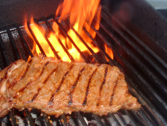Marinated Grilled London Broil Recipe Genius Kitchen