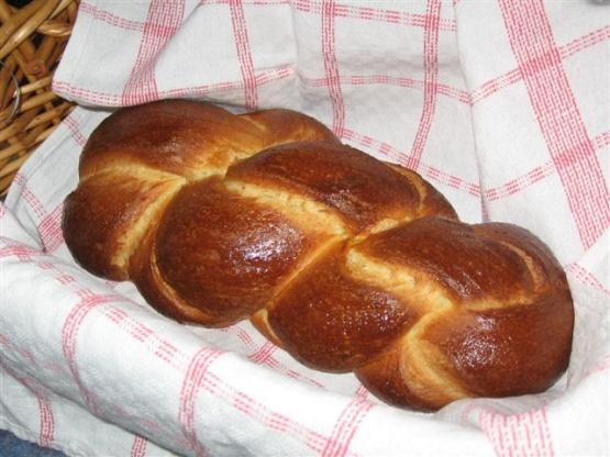 Zopf Traditional Swiss Plaited Breakfast Bread Recipe