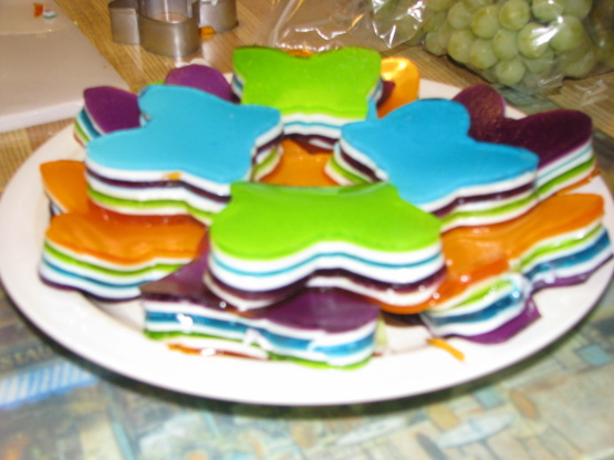 7 Layer Jello Recipe Genius Kitchen