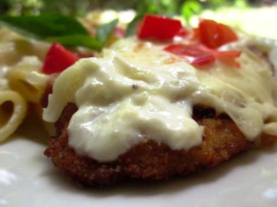 Chicken Parmesan Alfredo Recipe Genius Kitchen