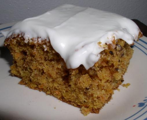 Light And Fluffy Carrot Cake Recipe