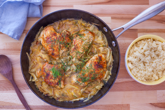 Moroccan Spiced Chicken And Fennel Recipe Genius Kitchen
