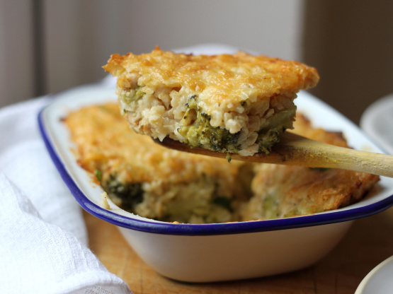 Chicken, Rice, Broccoli And Cheese Casserole Recipe -8462