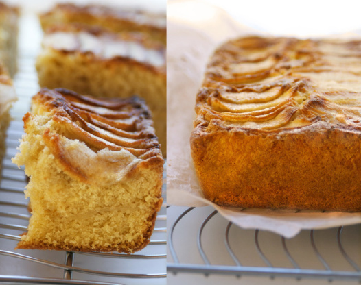 Easy Moist Apple Cake Recipe