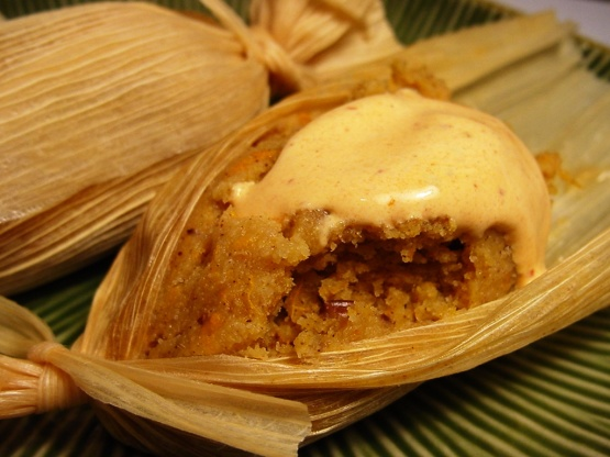 Sweet Tamales With Yams And Pecans Recipe - Genius Kitchen