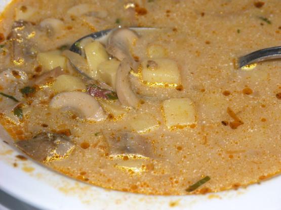Croatian Mushroom Soup Recipe Genius Kitchen