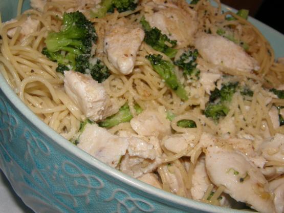 Chicken, Broccoli And Angel Hair Pasta Recipe - Genius Kitchen