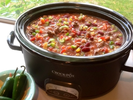 Low Fat Crock Pot Chicken Taco Soup Recipe Genius Kitchen