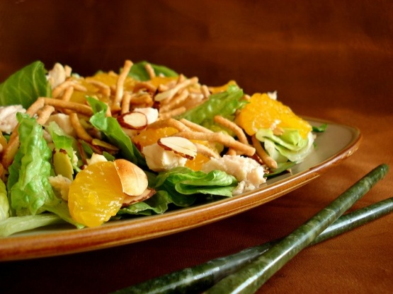 Mandarin Chicken Salad Recipe Chinese Genius Kitchen
