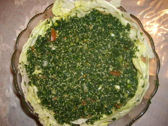 Tabule arabic salad tabbouleh recipe genius kitchen forumfinder Image collections