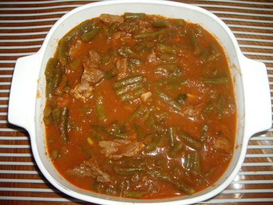 Green Bean Stew Arabic Recipe Recipe Genius Kitchen