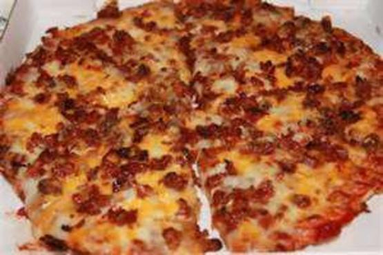 Bacon Cheeseburger Pizza Recipe Genius Kitchen