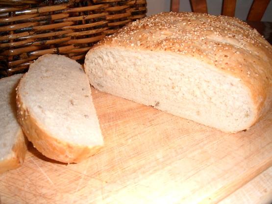 recipe: sesame seed bread recipe [2]