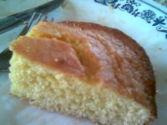 Pas Old Fashioned Johnny Cake Cornbread Recipe Breakfast