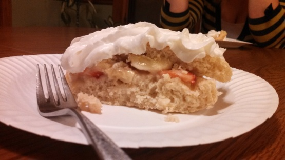Strawberry Banana Shortcake Recipe - Genius Kitchen
