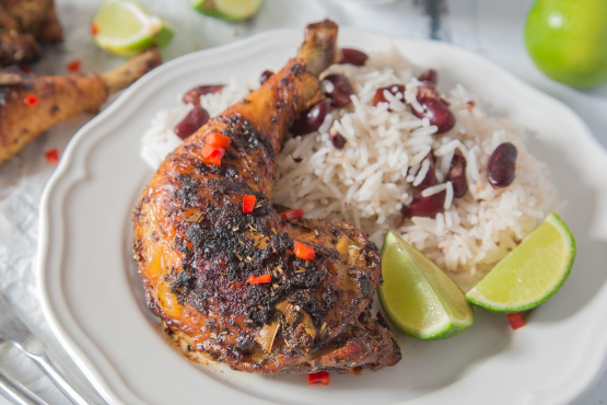 Jamaican Jerk Chicken And Seasoning Recipe Genius Kitchen