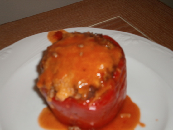 Dutch Oven Stuffed Bell Peppers Recipe Genius Kitchen