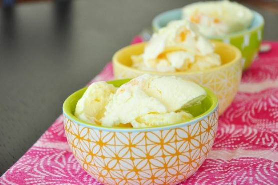 Fresh Georgia Peach Ice Cream Recipe Genius Kitchen