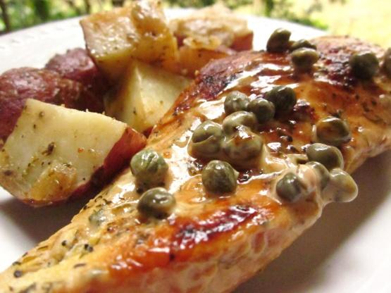 Chicken Breasts In Caper Cream Sauce Recipe Genius Kitchen
