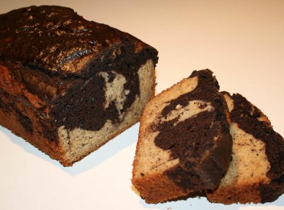 Martha Stewart Marble Cake With White Chocolate Glaze
