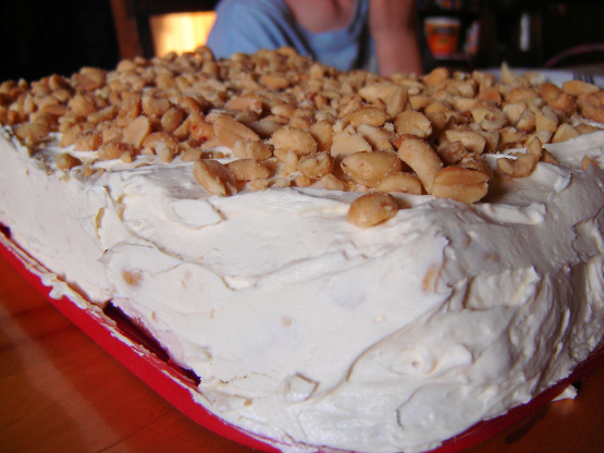 Christmas Cake Icing Recipe No Eggs: Blarney Stone Cake With Frosting! Recipe