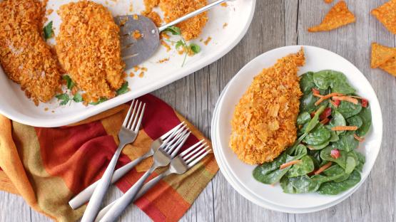 Nacho Cheese Dorito Chicken Recipe Genius Kitchen