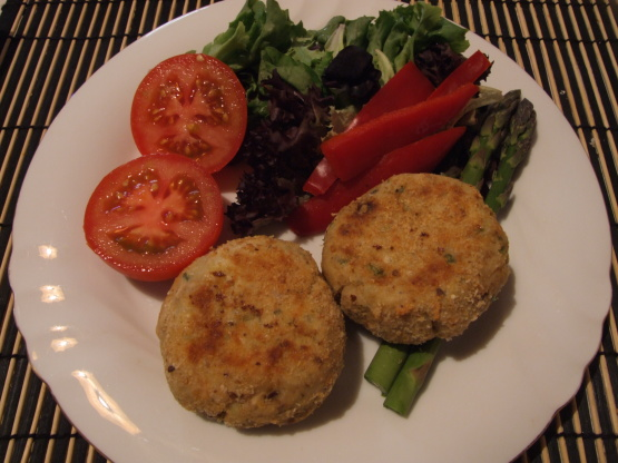 Oven baked thai style fish cakes recipe genius kitchen for Baked fish cakes