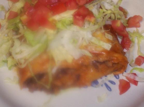 Bean and cheese burritos w tex mex chili sauce recipe for Cutthroat kitchen perfect burrito