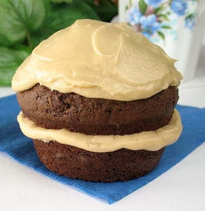 Chocolate Cake With Penuche Frosting