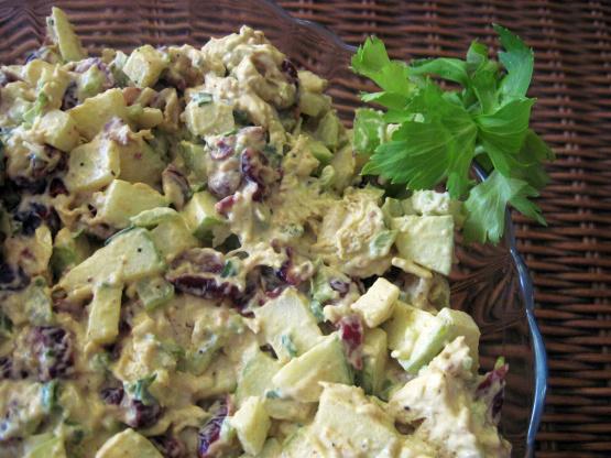 Curried Cranberry Chicken Salad Recipe Genius Kitchen