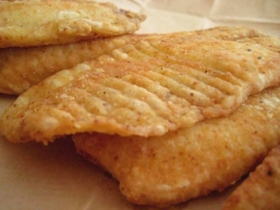 Deep fried tilapia fish recipe genius kitchen for How to fry fish with egg and flour
