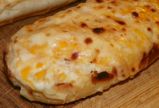 Extra Cheesy Garlic Bread Recipe Genius Kitchen