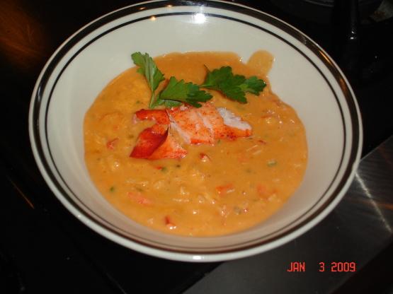 Lobster Or Crab Bisque Recipe - Genius Kitchen