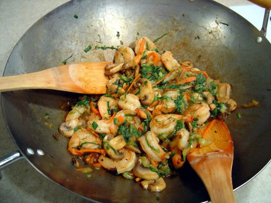 Moo Shu Shrimp Recipe Genius Kitchen