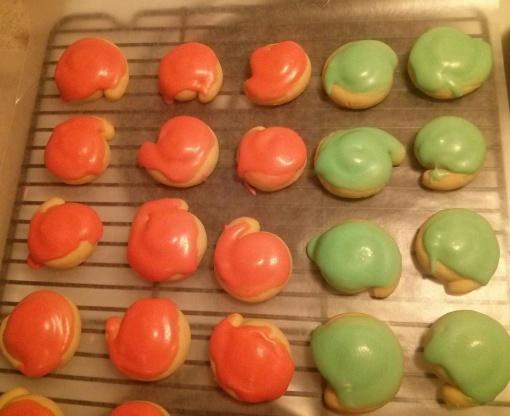 Iced Italian Cookies