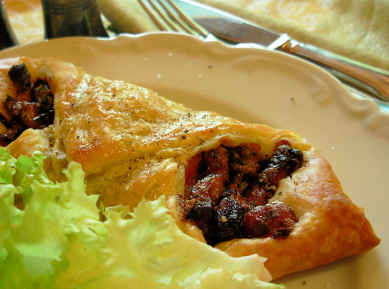 Savoury Bacon And Blue Cheese Danish Pastries Recipe