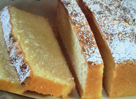 Swedish Almond Cake Pan Recipe