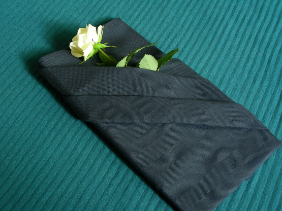 Serviette Napkin Folding French Pleat With Pocket Recipe