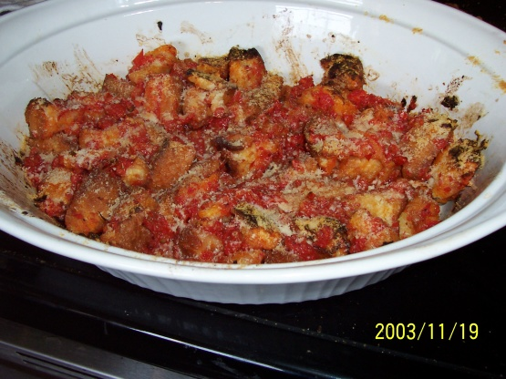 Tomato Bread Pudding Recipe Genius Kitchen