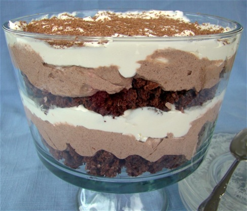 how to make a simple trifle without jelly