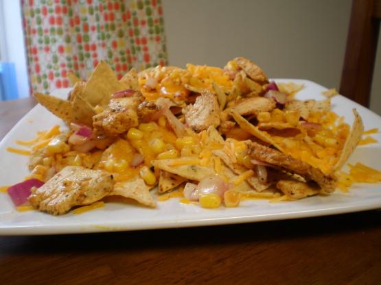 Lime Chicken Nachos Recipe Genius Kitchen