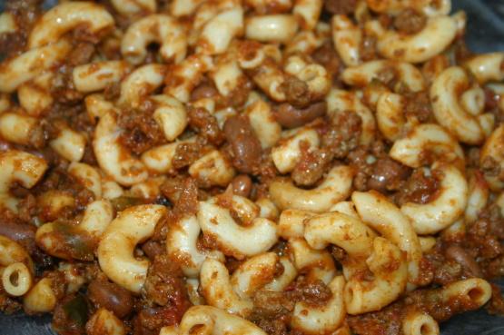 Crock Pot Chili Mac Recipe Genius Kitchen