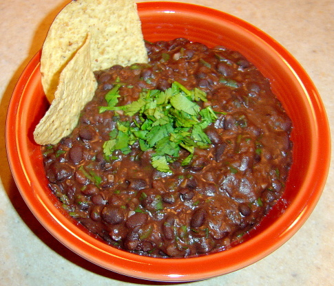 Quick And Easy Seasoned Black Beans Recipe Food Com
