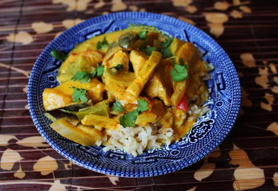 Chicken And Mango Curry Recipe Genius Kitchen