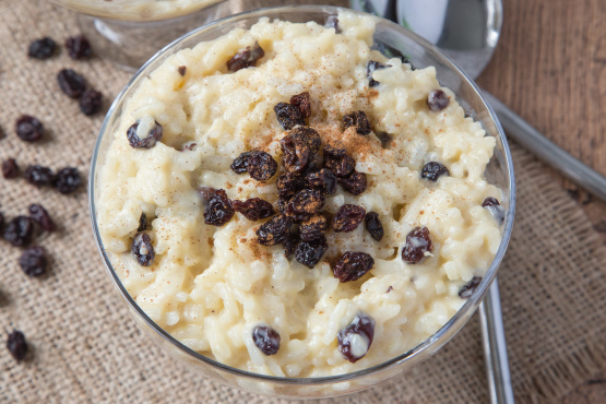Creamy Raisin Rice Pudding Recipe Genius Kitchen