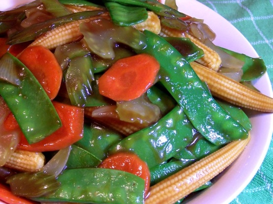 Stir fried asian vegetables recipe chinesenius kitchen forumfinder Image collections