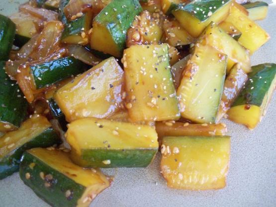 Japanese zucchini and onions recipe genius kitchen like forumfinder Choice Image